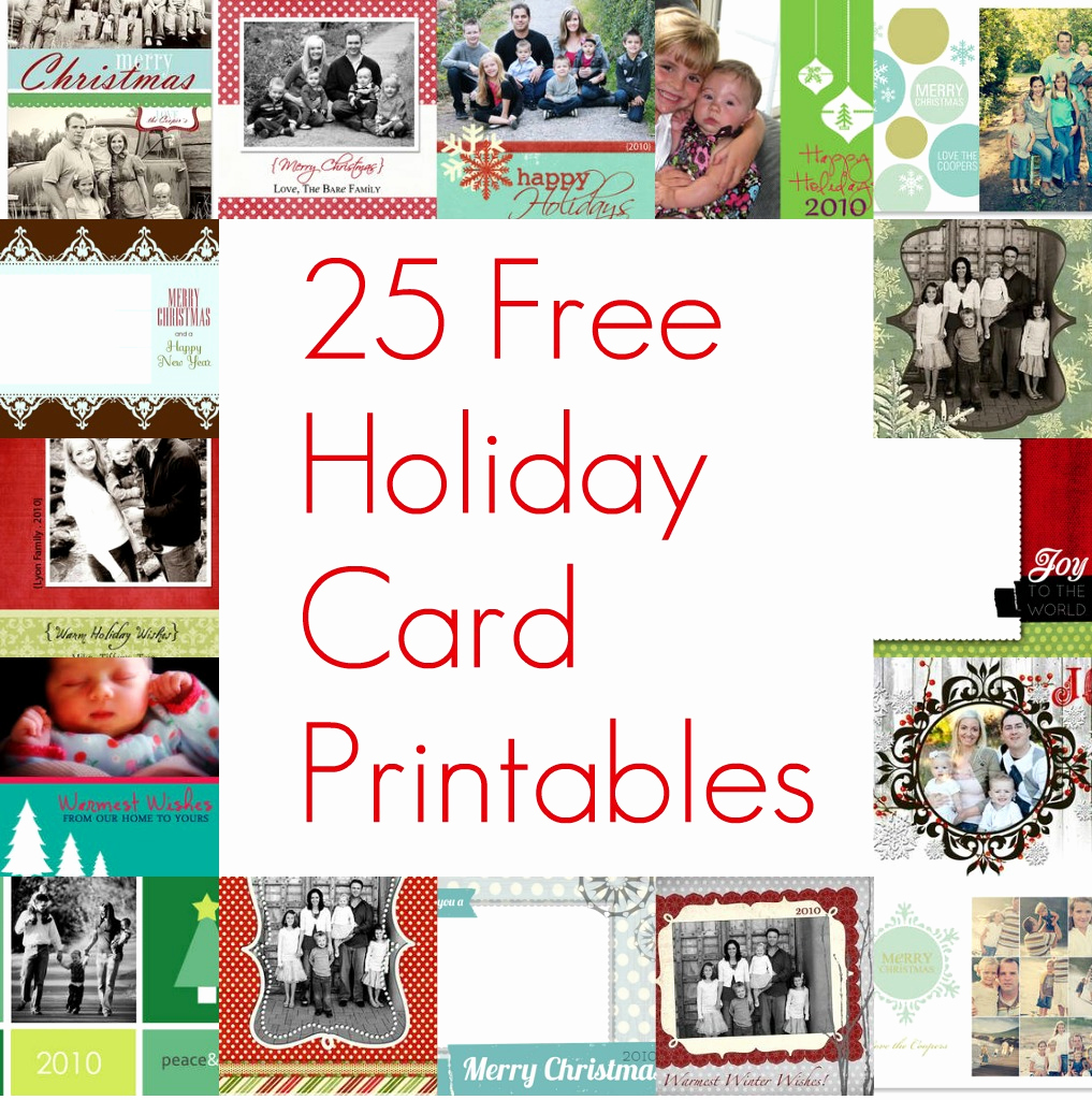 free printable christmas card inserts