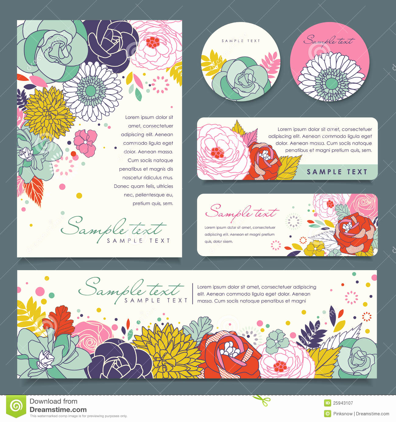 Free Printable Photo Cards Templates Fresh Greeting Cards Template Stock Vector Illustration Of