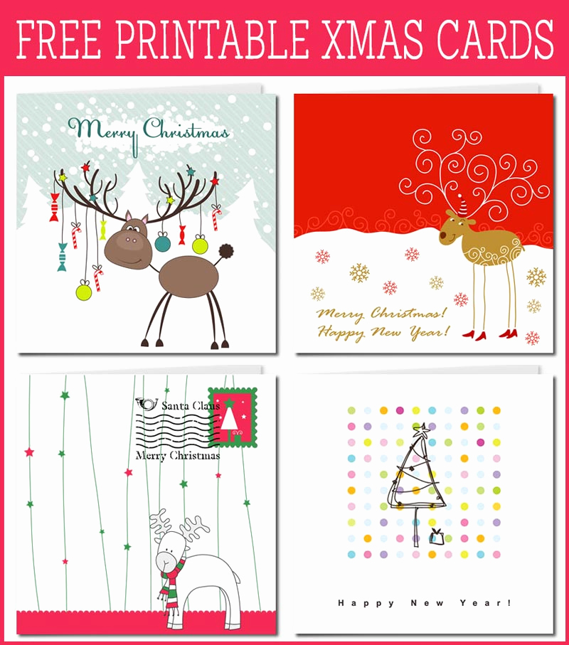 Free Printable Photo Cards Templates Inspirational Free Printable Christmas Card Inserts – Happy Holidays