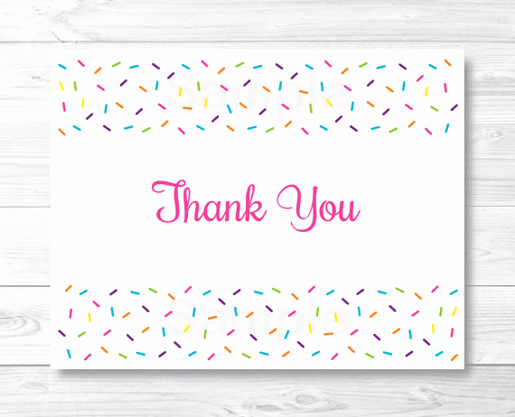 Free Printable Photo Cards Templates Inspirational Printable Thank You Card Template