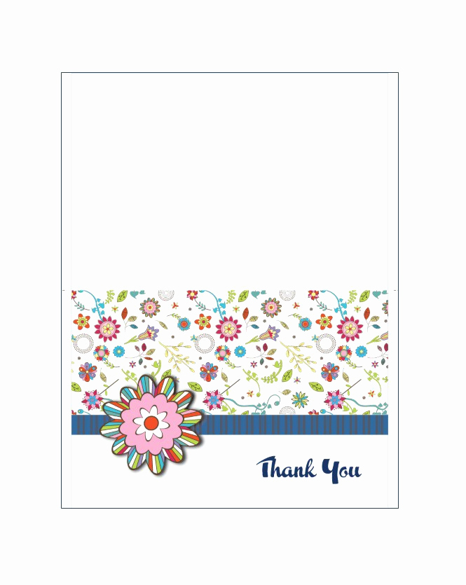 Free Printable Photo Cards Templates Luxury 30 Free Printable Thank You Card Templates Wedding