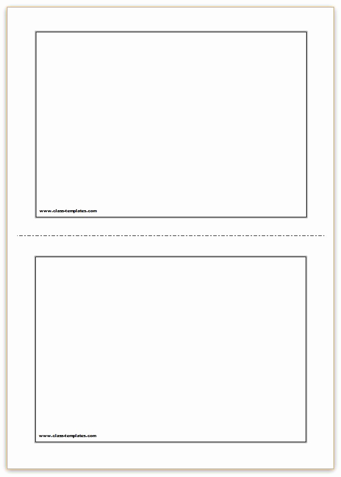 Free Printable Photo Cards Templates Unique Free Printable Flash Cards Template