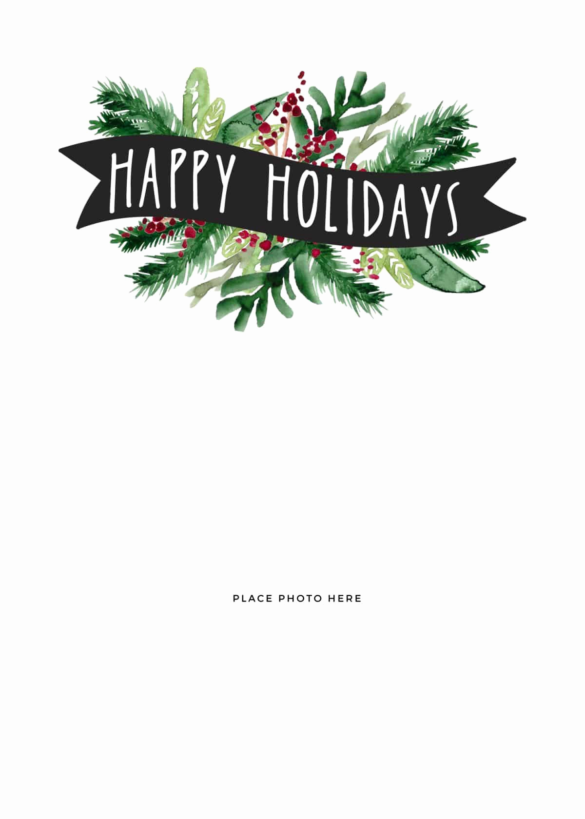 Free Printable Photo Cards Templates Unique Make Your Own Christmas Cards for Free somewhat