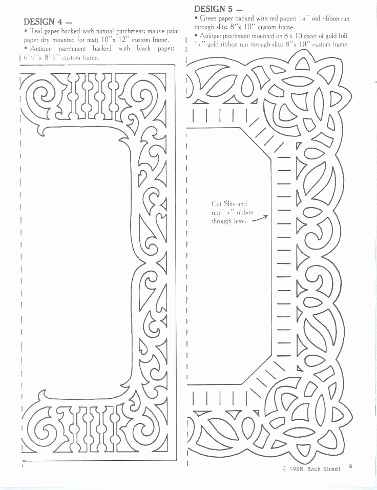 Free Printable Picture Frame Templates Awesome Free Frame Outline Download Clip Art Paper Template