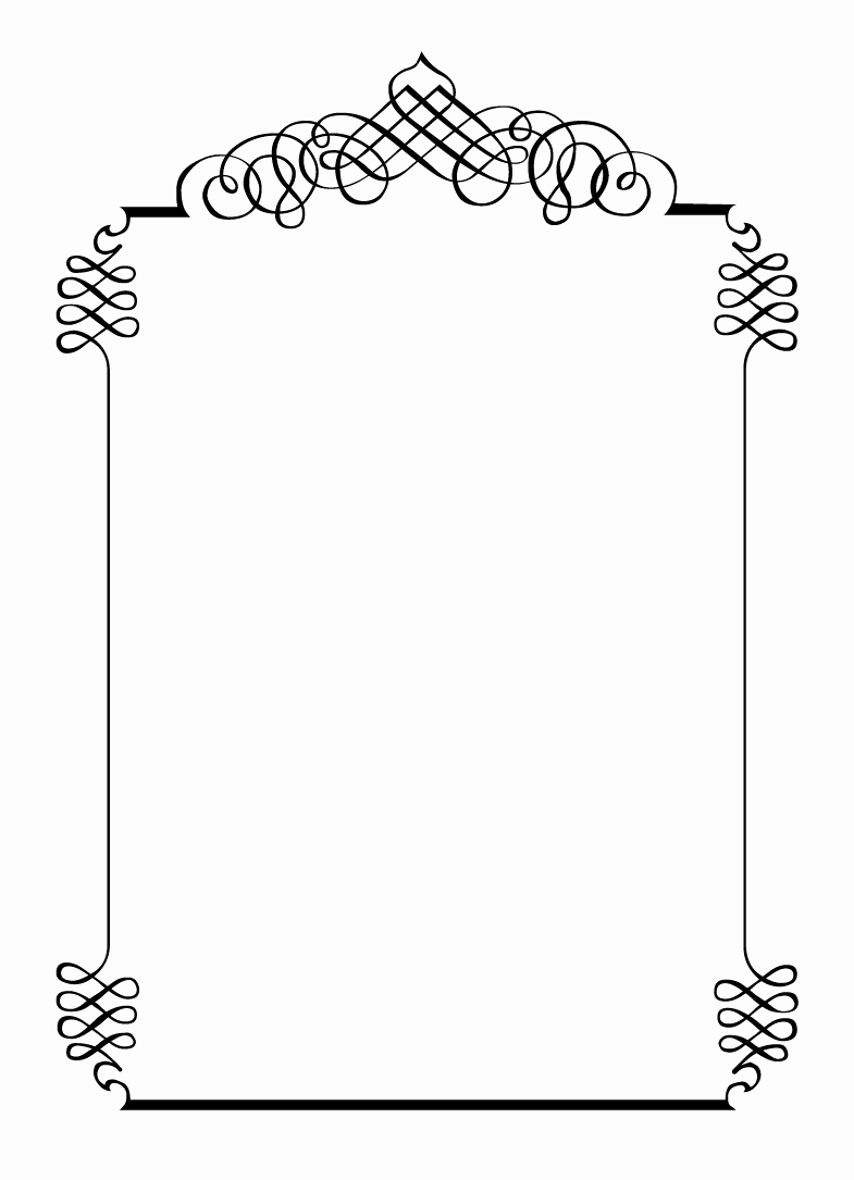 Free Printable Picture Frame Templates Awesome Free Printables for Happy Occasions Diy Calligraphic