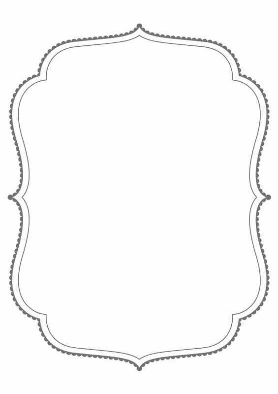 Free Printable Picture Frame Templates Beautiful Dropbox Bracket Frames From Puresweetjoy