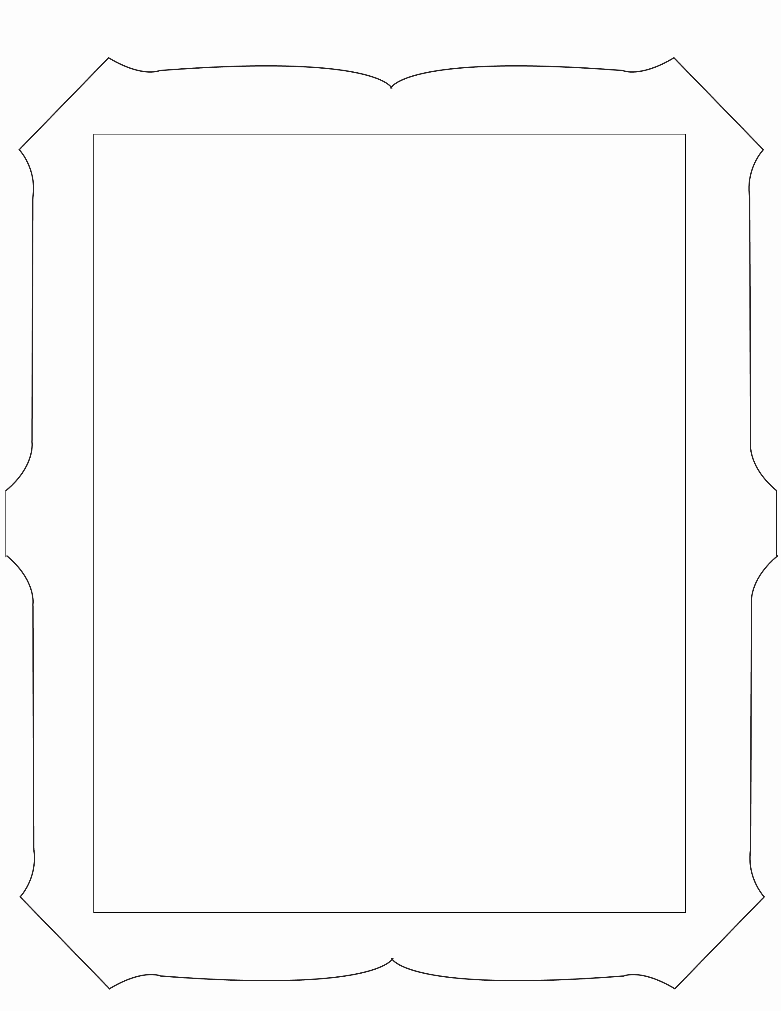 Free Printable Picture Frame Templates Best Of 6 Best Of Cool Picture Frame Design Printable