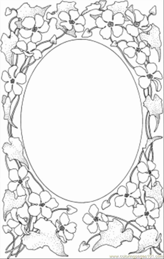 Free Printable Picture Frame Templates Best Of 8 Best Of Picture Frames and Coloring Printable