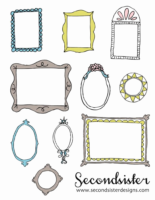Free Printable Picture Frame Templates New 25 Best Ideas About Printable Frames On Pinterest