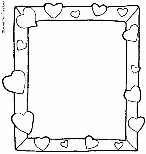 Free Printable Picture Frame Templates Unique Colouring Photo Frames