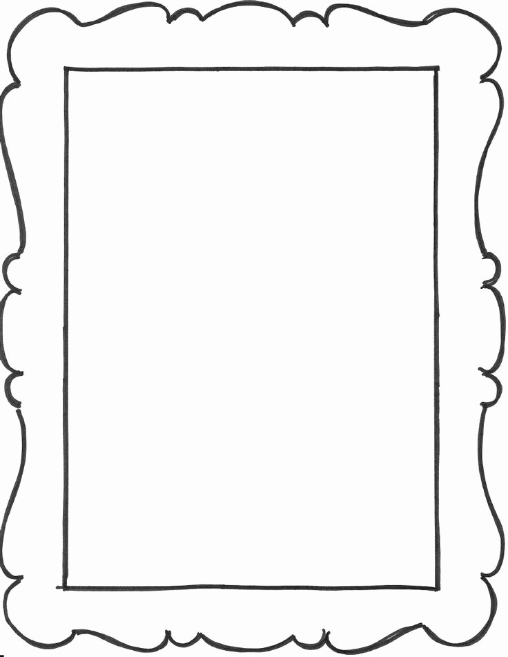 Free Printable Picture Frame Templates Unique Pin by Naz Yilmaz On Renkli Çerçeveler Pinterest