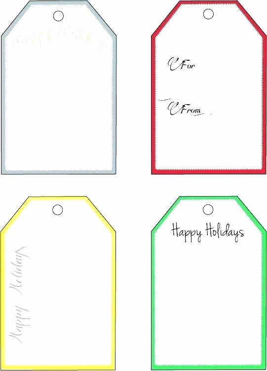 Free Printable Price Tags Template Awesome Holiday Tag Template – Eleads