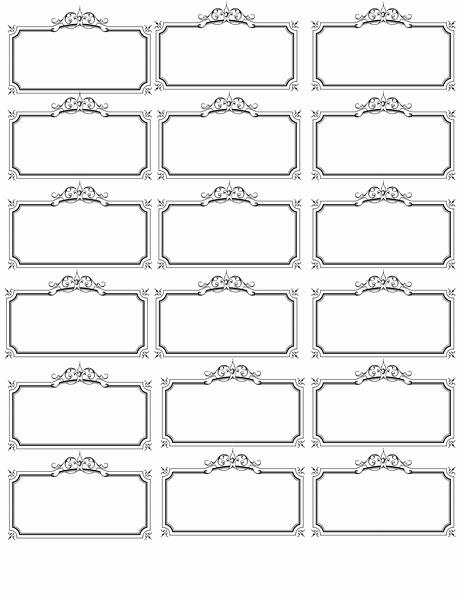 Free Printable Price Tags Template Elegant 6 Best Of Name Label Template Printable Free