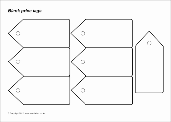 Free Printable Price Tags Template Elegant 8 Best Of Price Tags Printable Coloring Pages