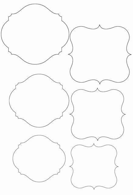Free Printable Price Tags Template Elegant Template Frame Cute for Price Tags