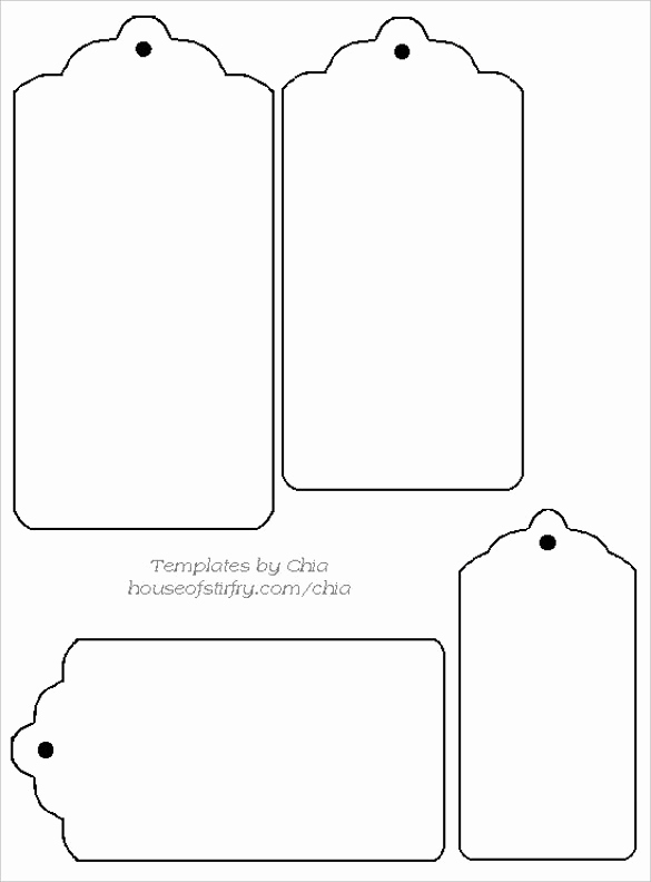 Free Printable Price Tags Template Luxury 14 Free Tag Templates – Free Sample Example format