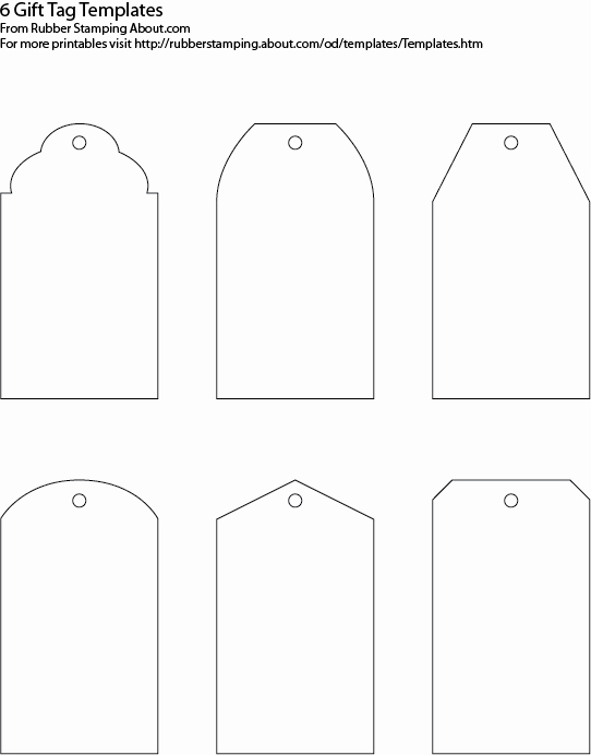 Free Printable Price Tags Template Unique Gift Tag Templates On Pinterest
