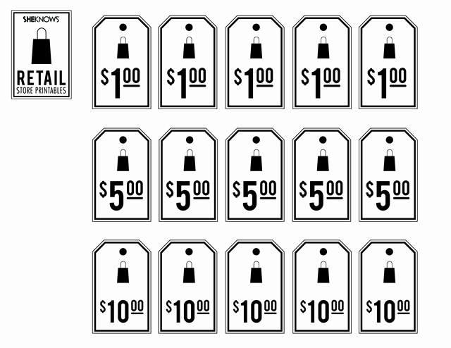 Free Printable Price Tags Template Unique Retail Price Tags Free Printable Coloring Pages