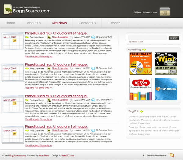 Free Professional Website Templates Awesome 10 Free Professional Websites Templates Psd Files