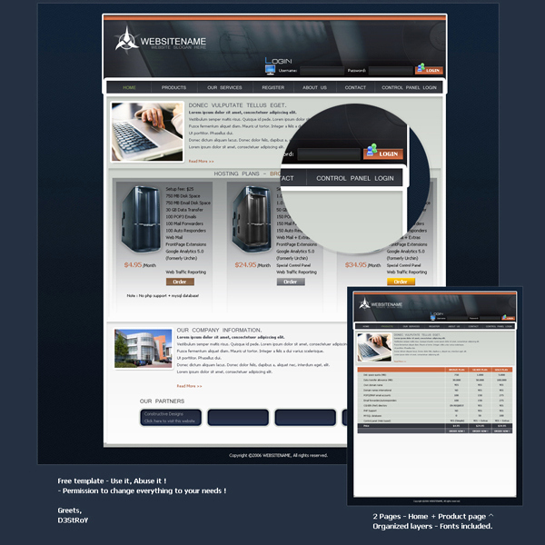 Free Professional Website Templates Beautiful 10 Free Professional Websites Templates Psd Files