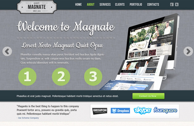 Free Professional Website Templates Beautiful 120 Free Psd Website Templates