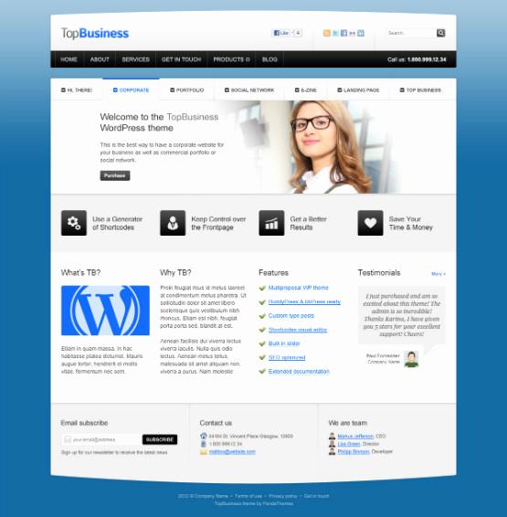 Free Professional Website Templates Fresh 40 Free Professional Psd Website Templates for Download
