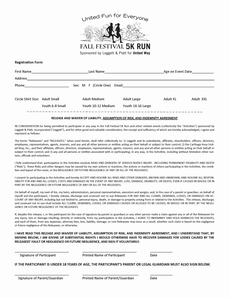 Free Registration forms Template Beautiful 5k Registration form Template Free Templates Resume