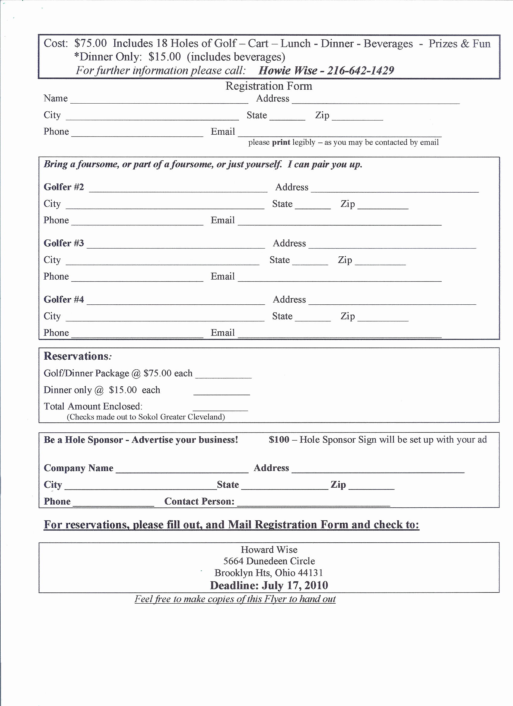Free Registration forms Template Lovely Application form event Registration form Template Printable