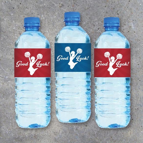 Free Water Bottle Template Elegant 24 Sample Water Bottle Label Templates to Download
