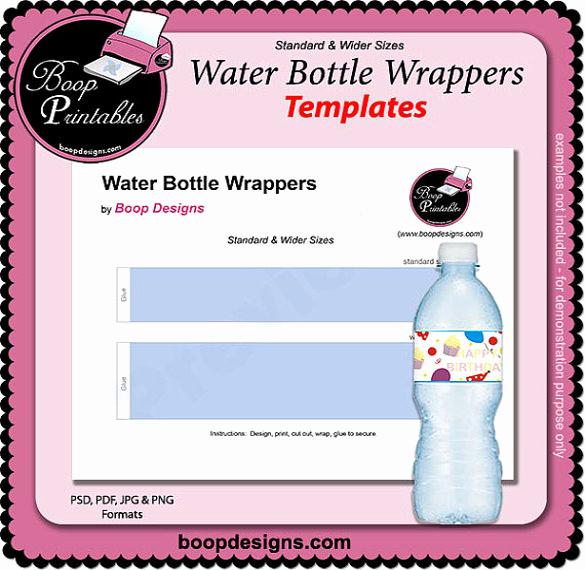 Free Water Bottle Template Lovely 21 Water Bottle Template Psd format Download