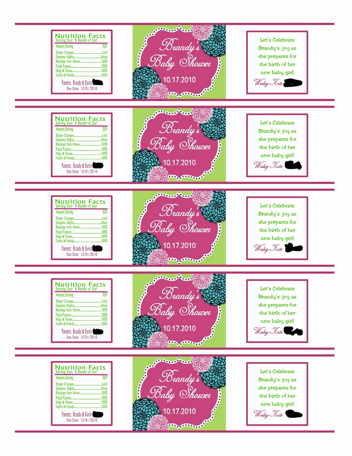 Free Water Bottle Template Luxury southern Inspirations How to Make Water Bottle Labels