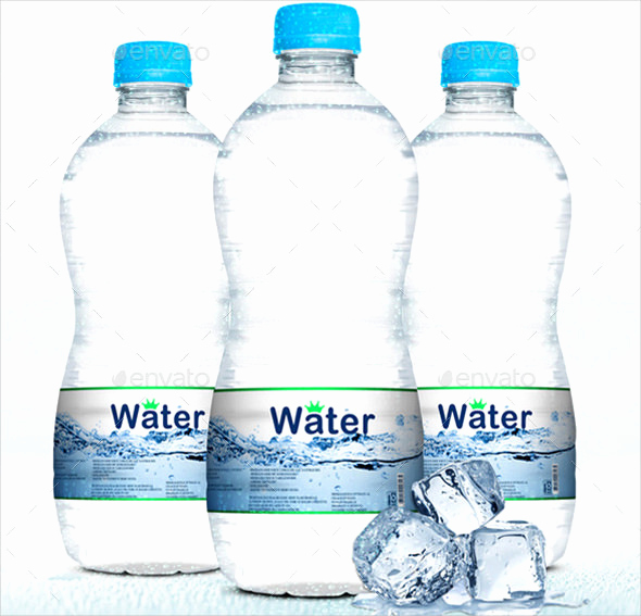 Free Water Bottle Template Unique 25 Water Bottle Label Templates Free Sample Example