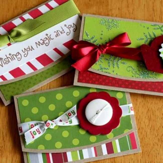 christmas t card holders template