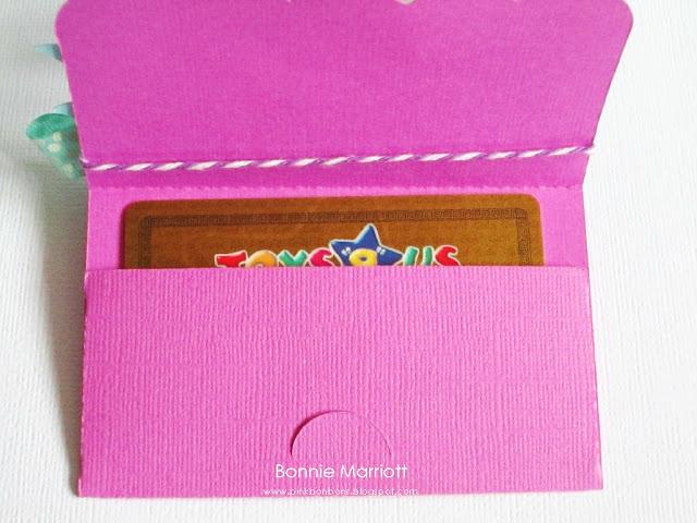 Gift Card Holder Template Free Best Of P I N K B O N B O N S October 2011