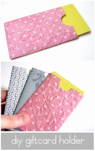 Gift Card Holder Template Free New 25 Creative Gift Card Holders