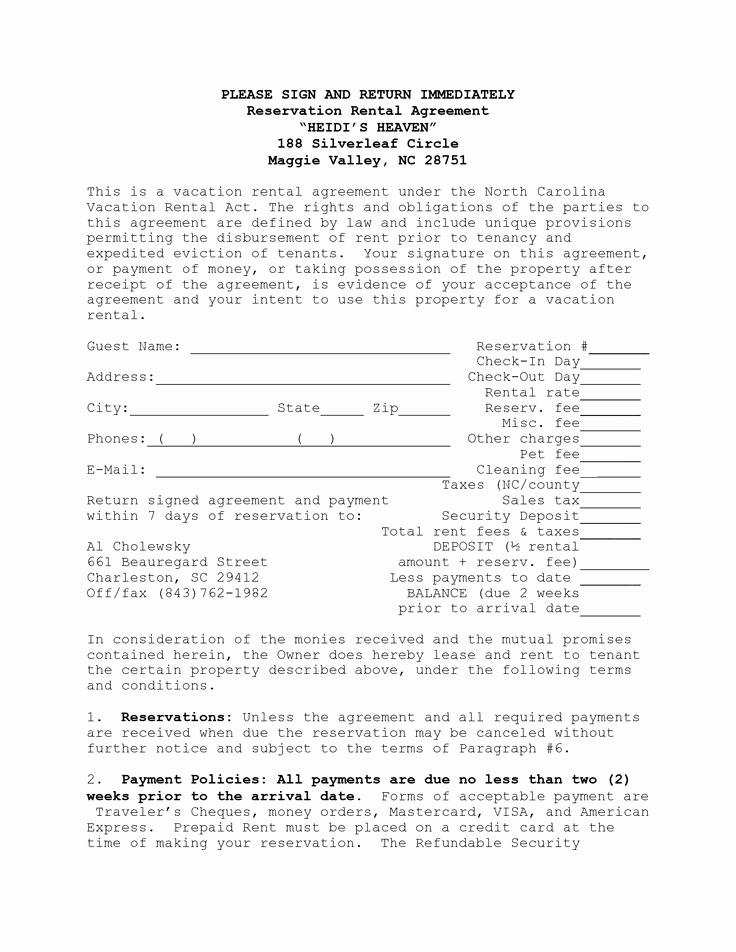House Rental Contract Template Elegant House Lease Agreement Template