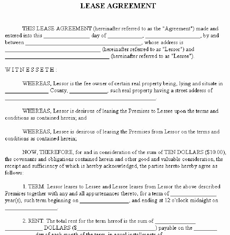 House Rental Contract Template New 14 Best S Of House Rent Agreement format House