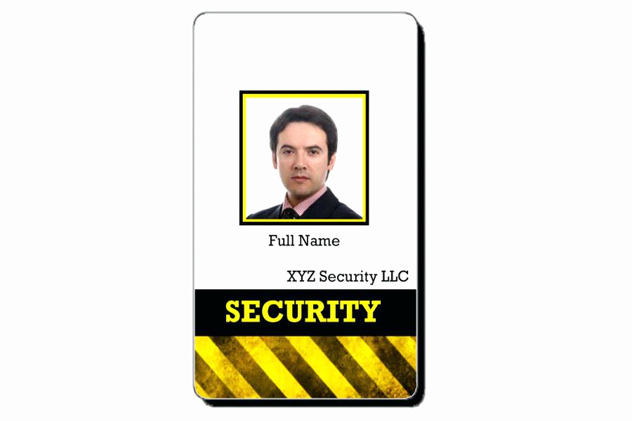 Id Badge Template Photoshop Awesome Identification Card Template Publisher Id Cards Sample