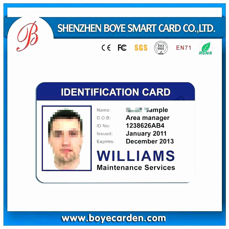 Id Badge Template Photoshop Inspirational I D Card Template I D Card Template Id Card Template Free