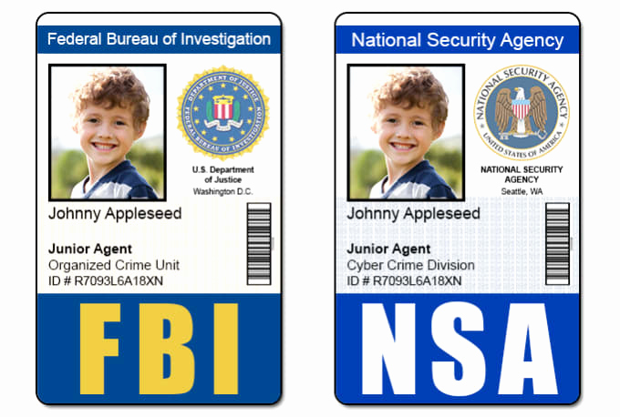 Id Badge Template Photoshop Inspirational Send 1 Fbi Cia Nsa or Dea Id Badge Photoshop Template