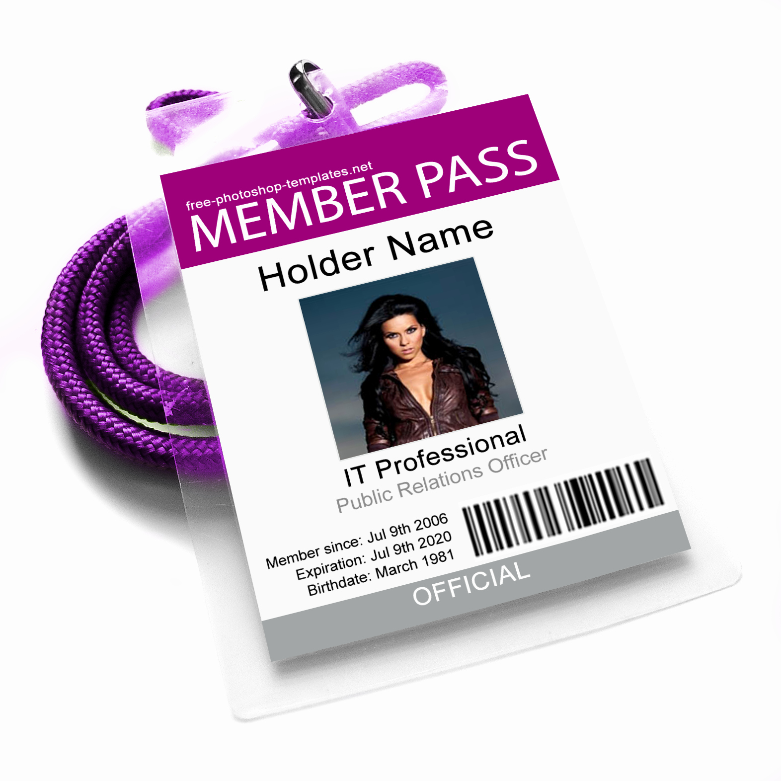 Id Badge Template Photoshop Lovely Id Card 3 by Leenidesigns On Deviantart
