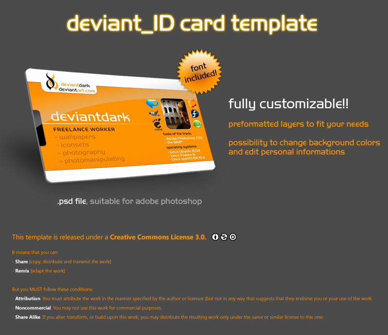 Id Badge Template Photoshop Lovely Id Card Template