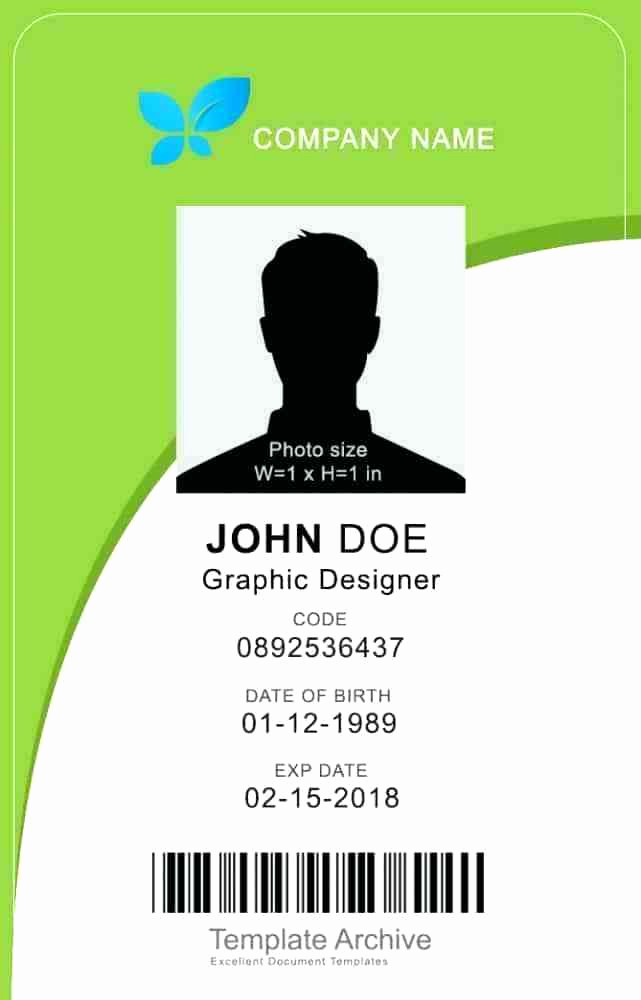 Id Badge Template Photoshop New Identification Badge Template Doctor Id Badges Free Word