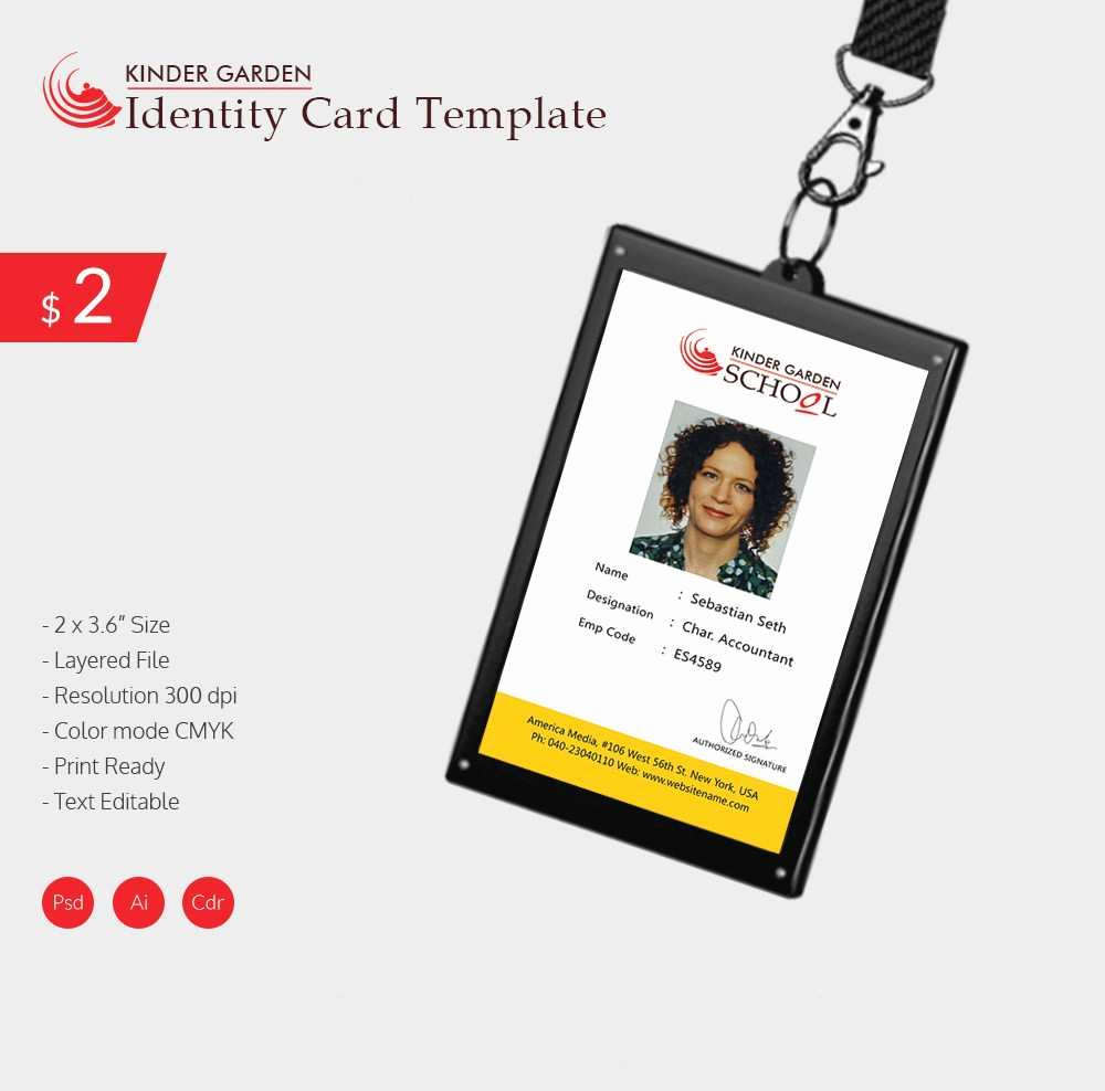 Id Badge Template Photoshop Unique Fresh Employee Badge Template Shop