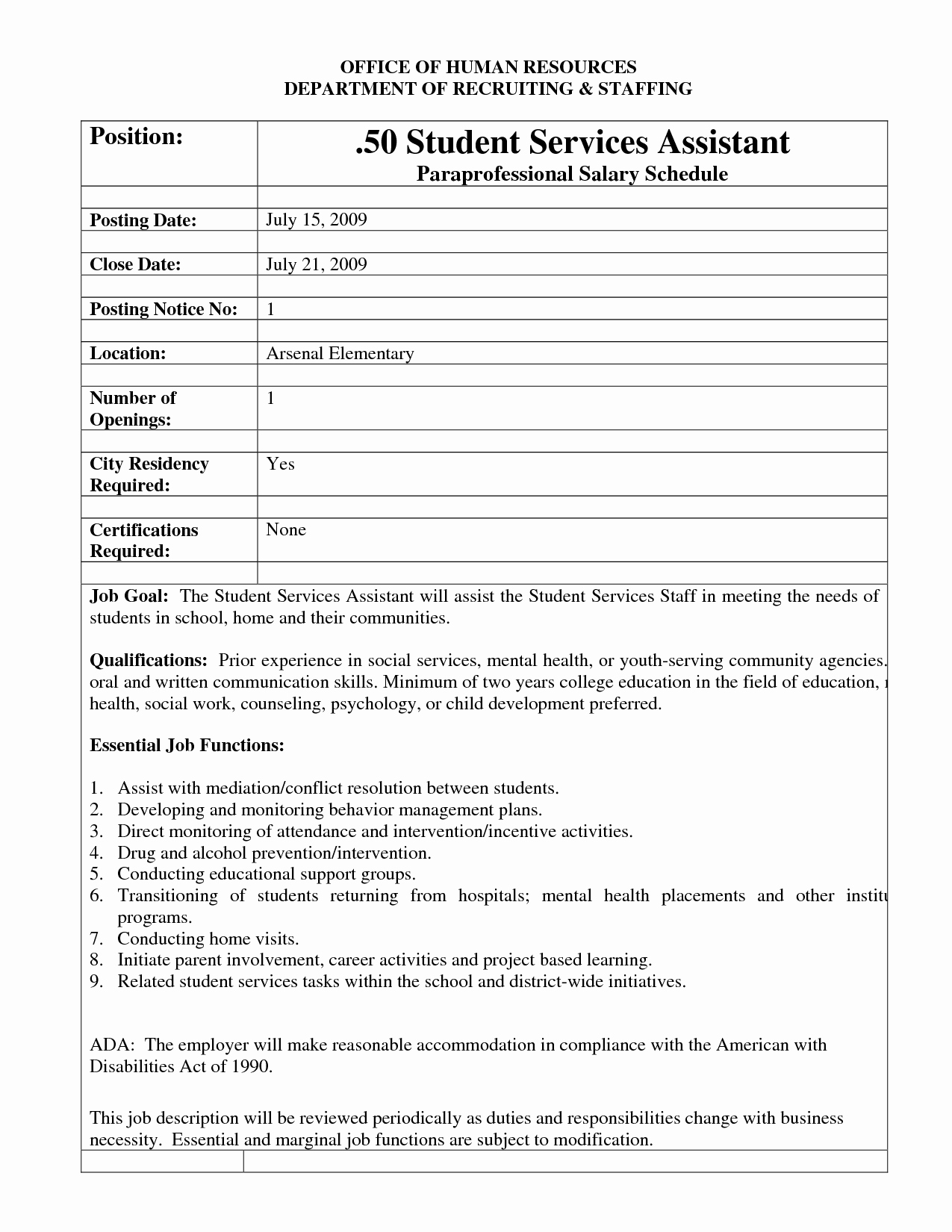 Job Posting Template Word Beautiful Best S Of Template Job Posting Sample Job