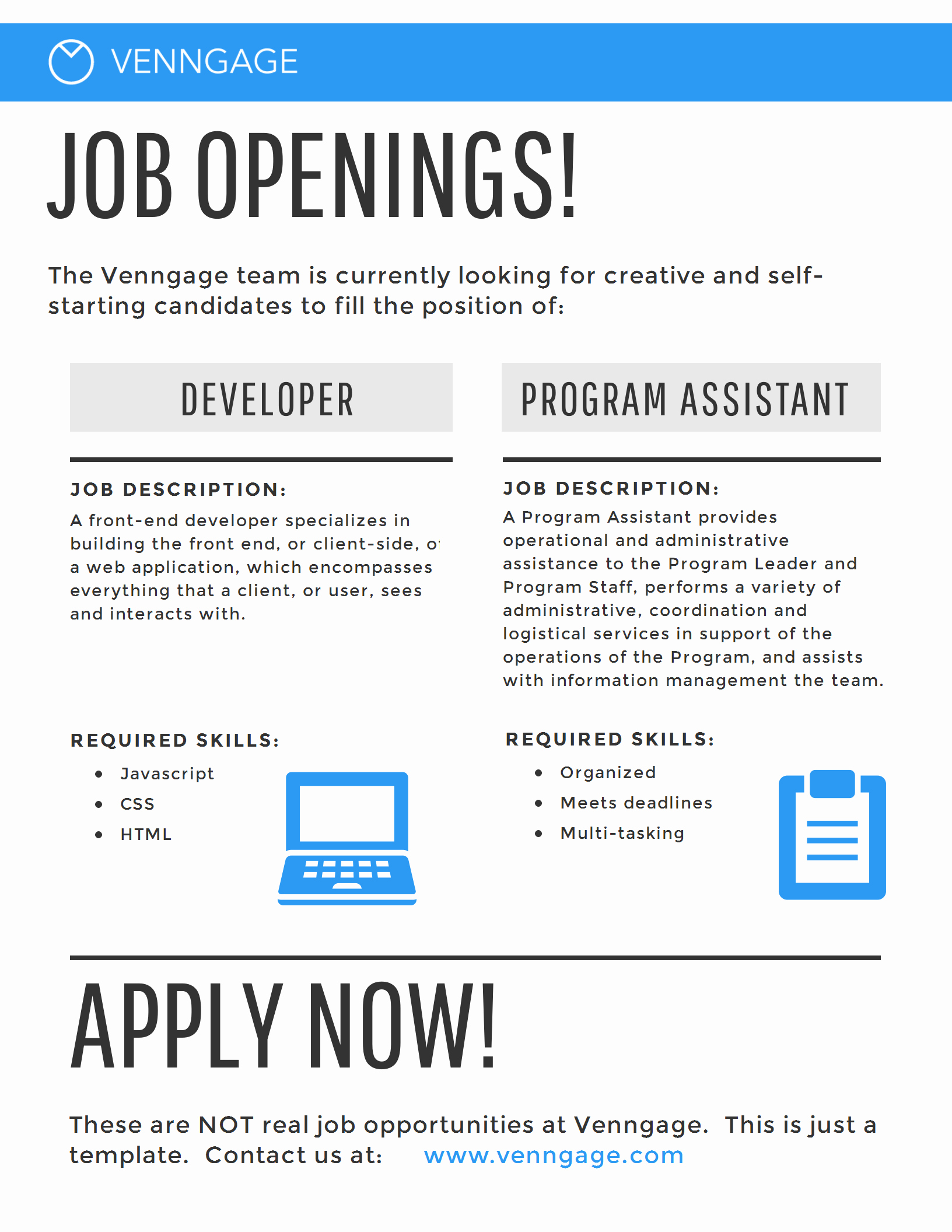 Job Posting Template Word Elegant 5 Hr Poster Templates for A Happy Business [infographic]