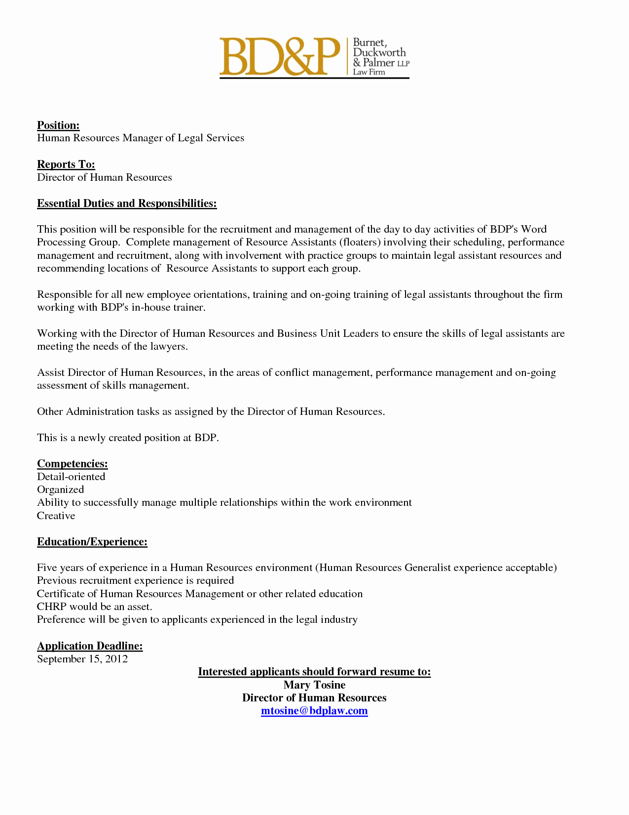 Job Posting Template Word Fresh Internal Job Posting Template