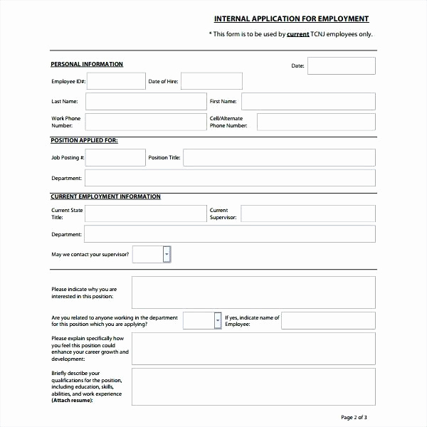 internal job posting template word gallery of application form for email