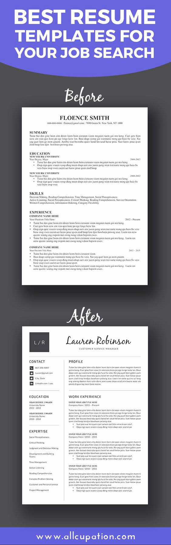 Job Posting Template Word New Best 25 Best Resume Template Ideas On Pinterest
