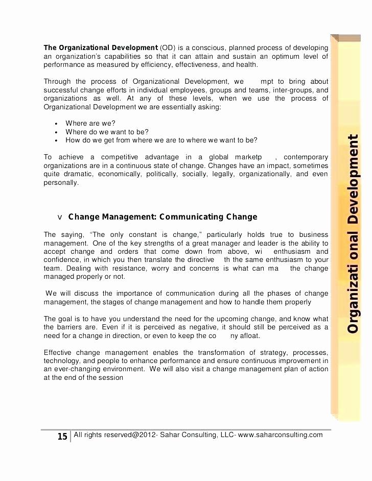Management Of Change Procedure Template Beautiful Management Change Procedure Template Project Management